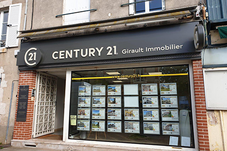 Agence immobilière CENTURY 21 Girault Immobilier à MER